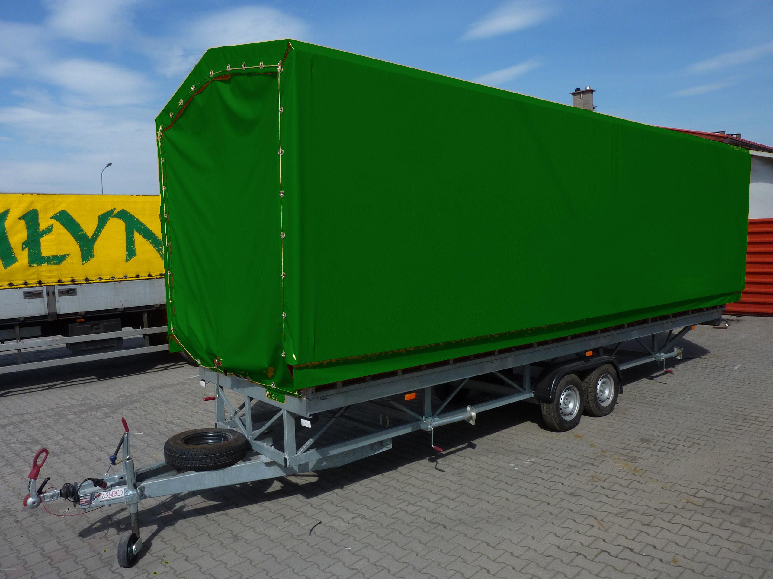 Ogromny Sceny Mobilne - Dach Dwuspadowy VA43